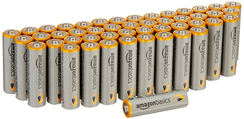 AmazonBasics AA Performance Alkaline Batteries (48-Pack) - Packaging May Vary
