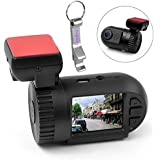 Blueskysea Mini 0801 Original Ambarella A2S60 Chip 5 Mega Pixel CMOS Full HD 1080P Car Dash DVR Video Recorder Camera Camcorder Cam Black Box + High Resolution Full HD 1080P 30 FPS, OV2710 + G-sensor Black Box + 135 Degree Wide Angle View