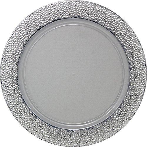 Decorline -Bajo platos de plástico resistente desechables redondos de 33 cm 43620ac17b03