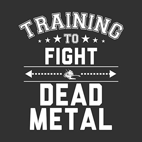 Robot Wars Training To Fight Dead Metal Women's Hooded Sweatshirt Charcoal  ...