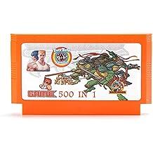 Rishil World 400 In 1 8 Bit Game Cartridge Salamander For NES FC
