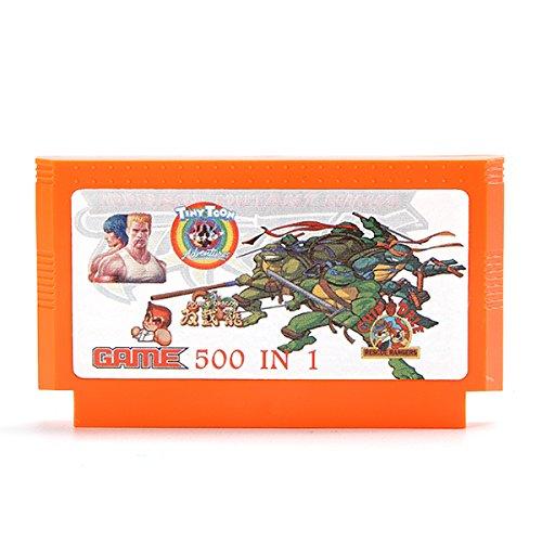 GOZAR 400 En 1 8 Bit Cartucho De Juego Salamandra
