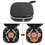 YUnnuopromi Quadcopter Akku-Datenkabel Tasche Tote Tragen Koffer für xiaomi MITU-Drohne Schwarz