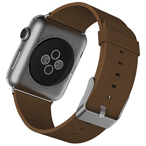 apple-watch-correa-jetech-42mm-cuero-de-bufalo-correa-muneca-banda-reemplazo-con-broche-de-metal-par