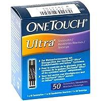 ONETOUCH Ultra Sensor Teststreifen 50 St preisvergleich bei billige-tabletten.eu