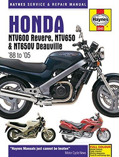 Honda Ntv600 Revere, Ntv650 & Ntv650V Deauville: 88-05 (Haynes Service & Repair Manual) por Haynes Publishing