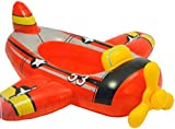 Intex Red Airplane Childrens Inflatable Ride On Pool Cruiser Beach Float Toy
