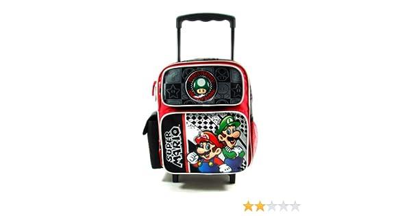 1881344cc078 Super Mario petite taille rouleau de 30cm de sac de roulement sac à dos noir  Puissance