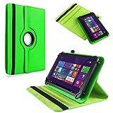 NAUC Tablet Hülle für Haier Pad 971 Tablet Tasche Schutzhülle Universal Bag Etui, Farben:Grün