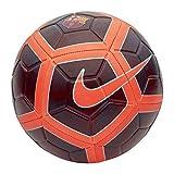 Nike FCB Nk Strk Balón de Fútbol, Hombre, (Night Maroon/Hyper Crimson), 5