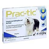 Prac tic für grosse Hunde 22-50 kg Einzeldosispipe 3 stk