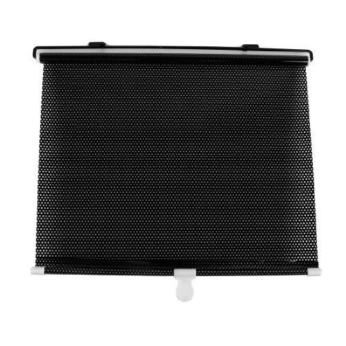 60cm x 40cm Punkt Muster Vinly Sonnenschutzrollos Sonnenschutz Schwarz für Auto