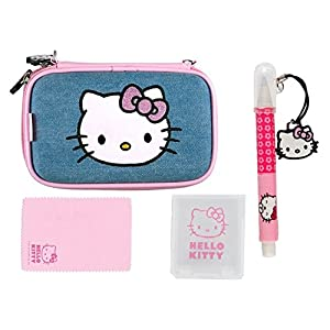 Full Pack Extreme Hello Kitty Jeans 4 in 1 für 3DS,3DS XL, DSi und DS Lite