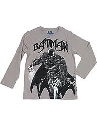 Jungen Batman Shirt, grau