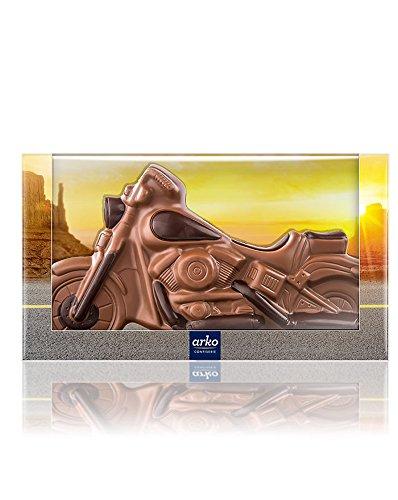 Preisvergleich Produktbild Arko Schokoladen-Motorrad,  Edelvollmilch-Schokolade,  250 G
