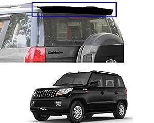 Auto Pearl - Premium Quality Oe Type Car Spoiler For - Mahindra Tuv 300 (Bold Black)