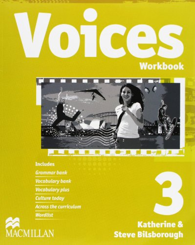 VOICES 3 Wb Pk Eng - 9780230730892