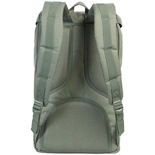 Little America Backpack oliv / hellbraun