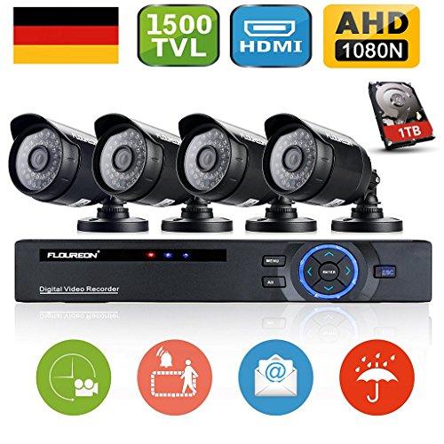 floureon-kit-de-4-camaras-de-vigilancia-seguridad-h264-cctv-dvr-p2p-8ch-ahd-1080n-y-4-camaras-ip-720