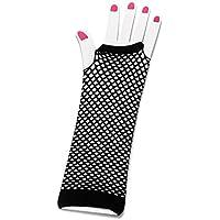 Bristol Novelty Gloves. Fishnet Fingerless (costume Accessories) - Female - One Size