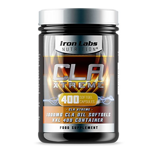 CLA Xtreme XXL - 1000mg x 400 Softgels | Ultimate CLA Supplement | Conjugated Linoleic Acid | No.1 CLA Sports Supplement