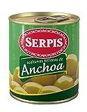 El Serpis - Grüne Oliven mit Anchovis 'Anchoa' - 200g