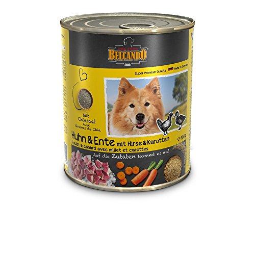 BELCANDO Belcando Umido Pollo Anatra GR. 800 Cibo Secco Senza Cereali Per Cani