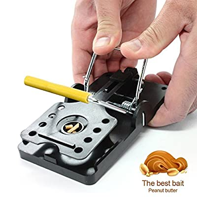 Yooyee Mouse Trap 6 Pack Kill Mice Catcher, Easy to Set Reusable Mouse Control Snap Traps