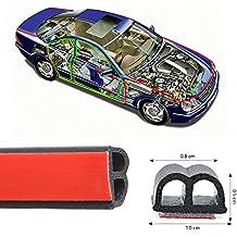 haichen 5m Tipo B autoadhesivo para puerta de coche Automotive de goma de sellado para ventana motor Cover Cascara burlete