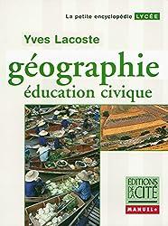 Manuel +  Géographie  Lycée