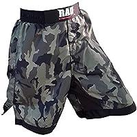 Pantalones cortos 2 Fit MMA para artes marciales mixtas, boxeo, lucha libre, kick boxing, diseño de camuflaje, color camouflage, tamaño X-Large