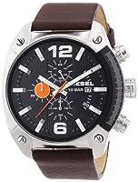 Reloj Diesel DZ4204 de cuarzo para hombre con correa de piel, color marrón de Diesel