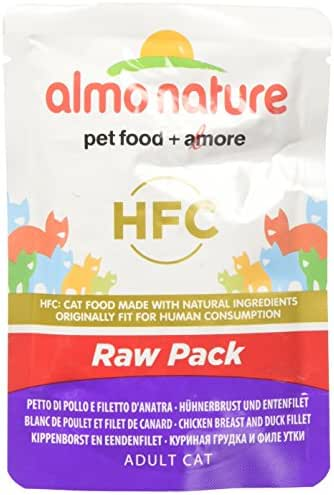 Almo Nature : Pochon Classic Raw Pack Blanc Poulet/canard