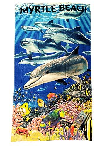 JGR Copa Myrtle Beach Living Sea Reactive Strandtuch 150 x 76 cm