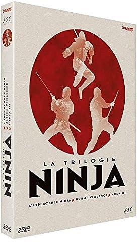 Coffret trilogie ninja : l'implacable ninja ; ultime violence ; ninja III