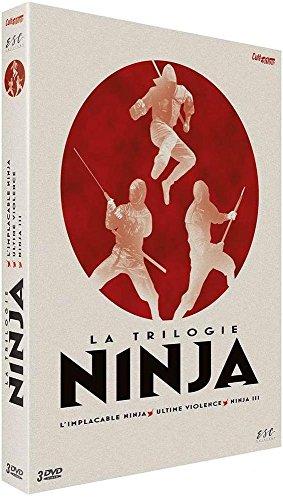 Coffret trilogie ninja : l'implacable ninja ; ultime violence ; ninja III [FR Import]