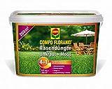 COMPO FLORANID Rasendünger gegen Unkraut+Moos 4in1, 6 kg für 200 m²