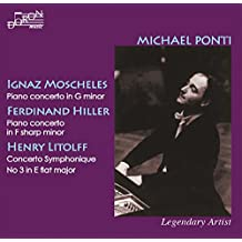 Moscheles , Ferdinand Hiller ,Henry Litolff : Concerto pour Piano