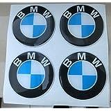 BMW 50mm Tuning Efecto 3d 3m resinato coprimozzi BMW Serie 1357x1x3X4X5X6X7Z3Z4M3M4Tachuelas Caps pegatinas stickers para círculos de aleación x 4unidades)