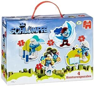 Jumbo Spiele - Domino Los Pitufos Die Schlümpfe (Jumbo CAD2ODR16N5TBGO)