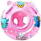 StillCool Baby Schwimmring Einstellbare Life Boje Schlauchboot Boat Ring für Schwimmboote für Babys für Babys Baby Float Pool Babies(Rosa)