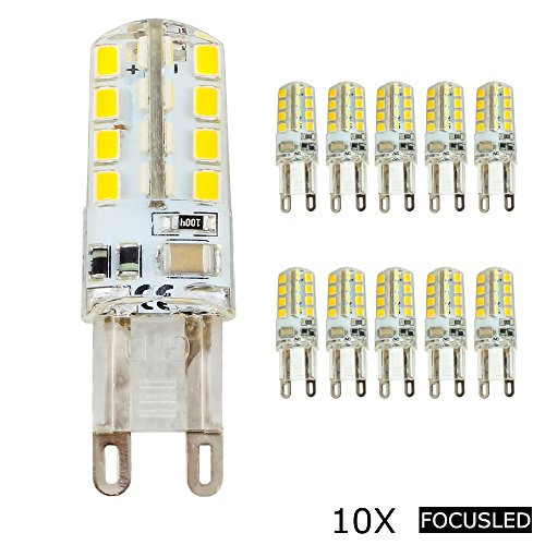 Focusled 10 Stücke G9 2.5W 32 SMD 2835 LED Leuchtmittel Super energiesparend licht LED Lampe 360º...