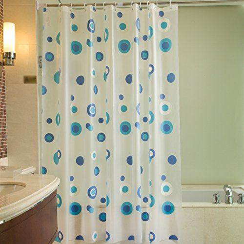 Rideaux de douche Le rideau en douche PEVA étanche plus la salle de bains épaisse baignent la mode de sécurité durable Durable ( taille : 100X200CM )