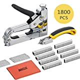 Staple Gun with Remover - 3 in 1 Heavy Duty Staple Nail Steel