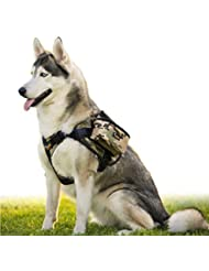 haveget extraíble al aire libre mochila perro arnés ajustable de perro mochila de viaje bolsa juguetes bolsa de transporte para perros