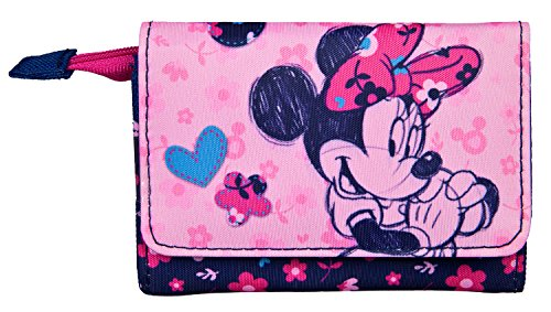 Geldbörse, Disney Minnie Mouse, ca. 8 x 12 x 2 cm