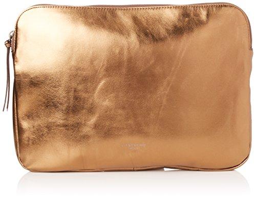 Liebeskind Berlin Damen Emeliew7 Memila Laptop Tasche, Gold (Warm Beige), 1 x 24 x 32 cm