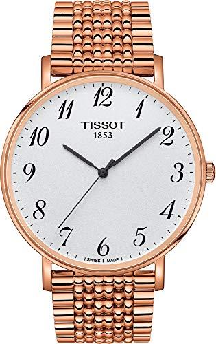 Tissot Reloj Analógico para Unisex Adultos de Cuarzo con Correa en Acero Inoxidable T1096103303200