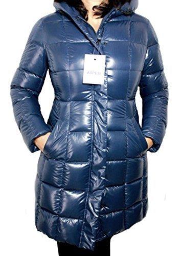 ASPESI piumino donna FINESTRA N9N63 B561 blu est 100% poly XL