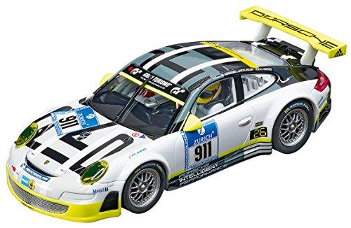 Carrera 20027543 Evolution Porsche GT3 RSR  Manthey Racing, No.911 (Slot Car Carrera 1 32)